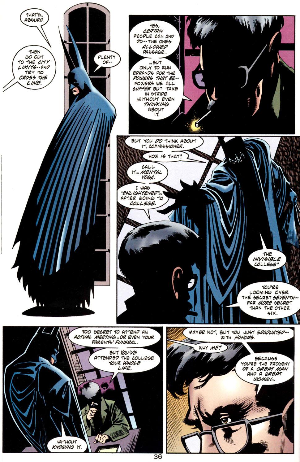 Read online Batman: Haunted Gotham comic -  Issue #1 - 38