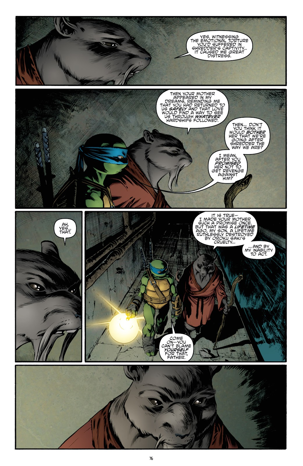 Read online Teenage Mutant Ninja Turtles: The IDW Collection comic -  Issue # TPB 4 (Part 3) - 83