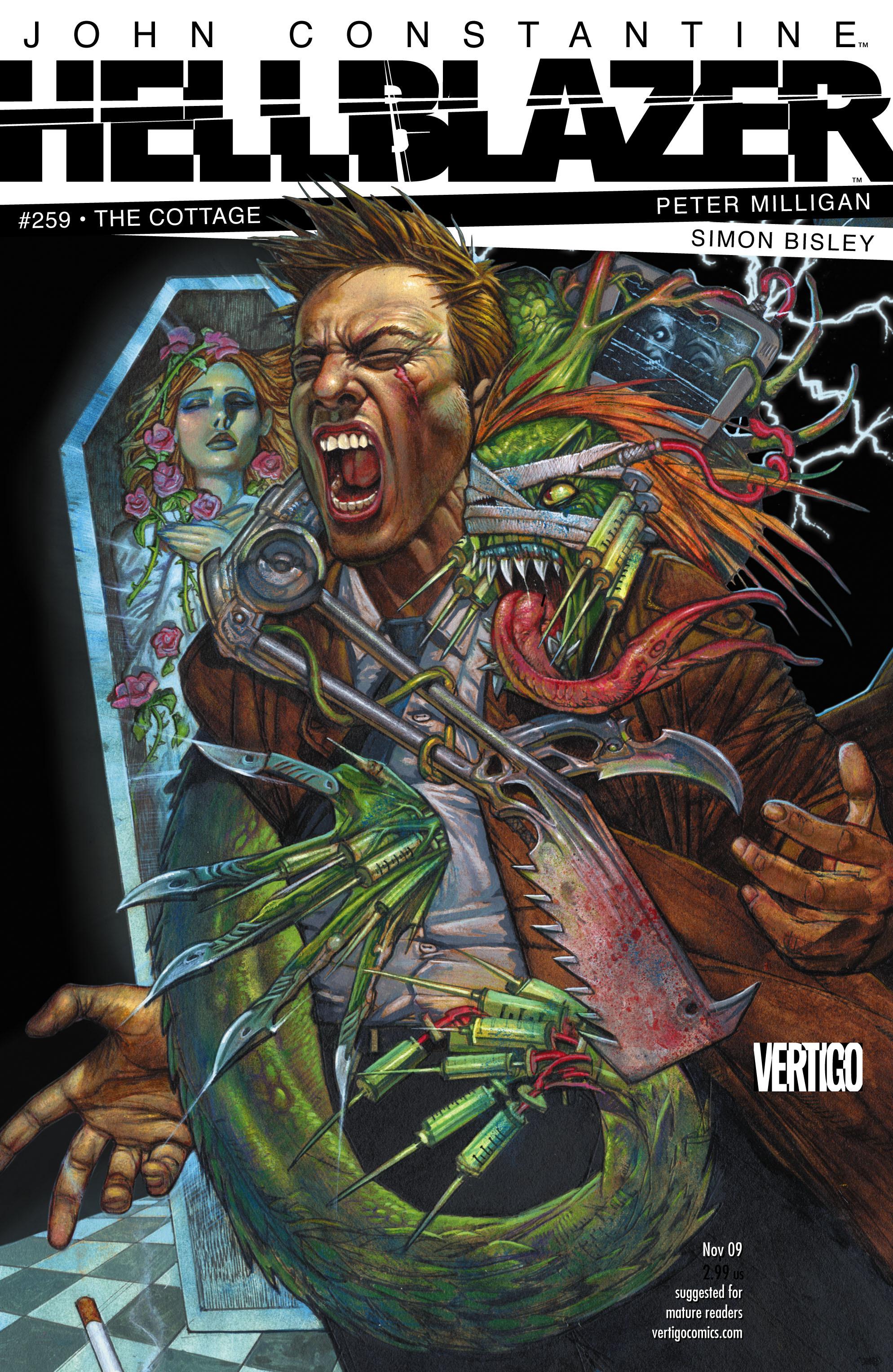 Hellblazer issue 259 - Page 1