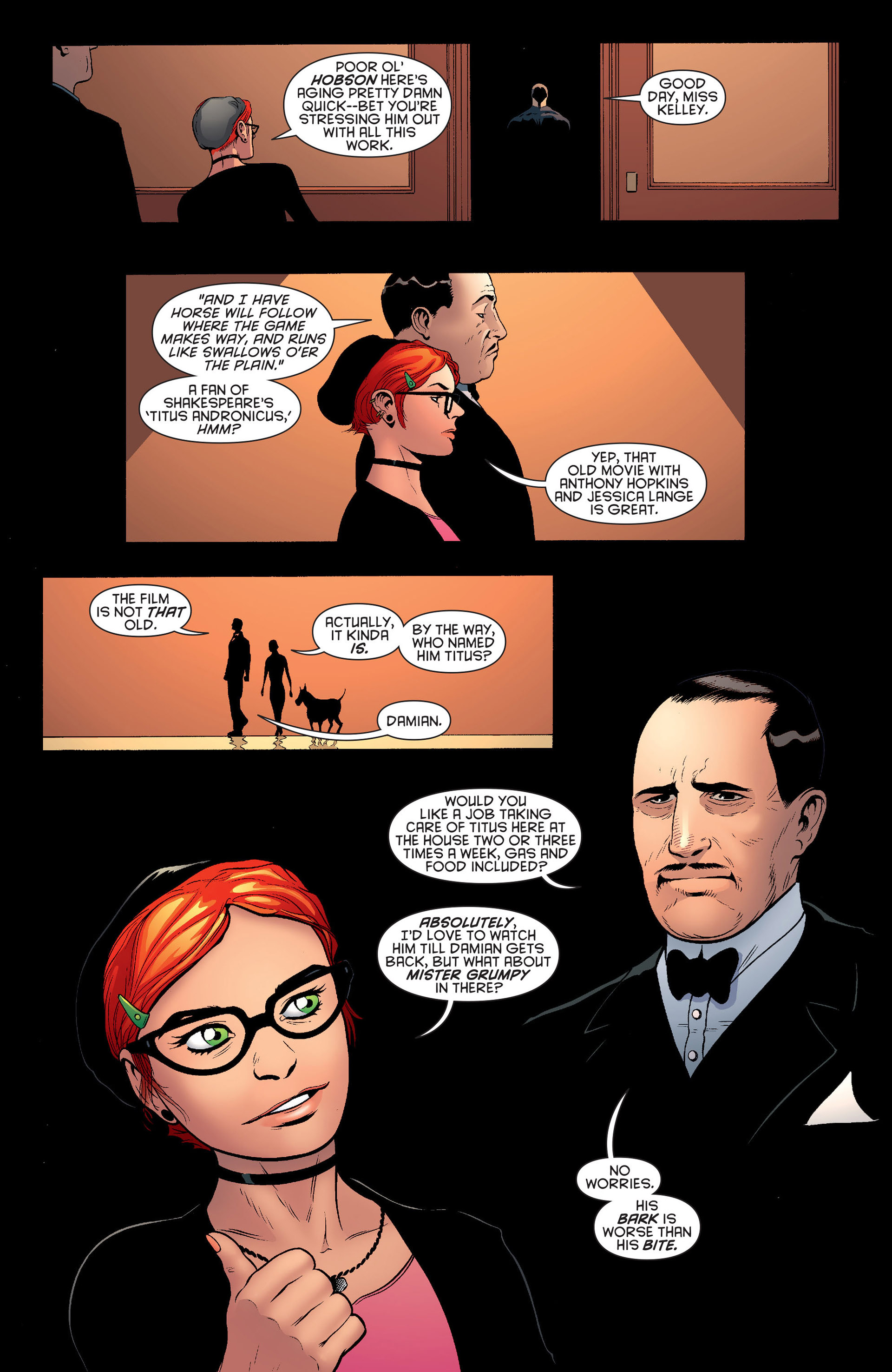 Read online Batman and Robin (2011) comic -  Issue #20 - 8