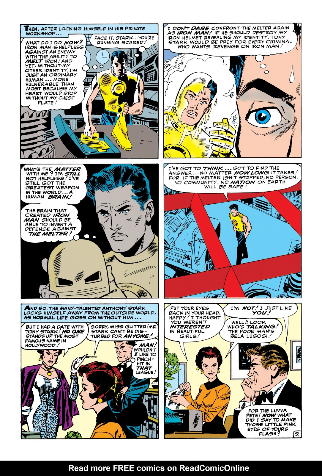 Read online Marvel Masterworks: The Invincible Iron Man comic -  Issue # TPB 1 (Part 2) - 29