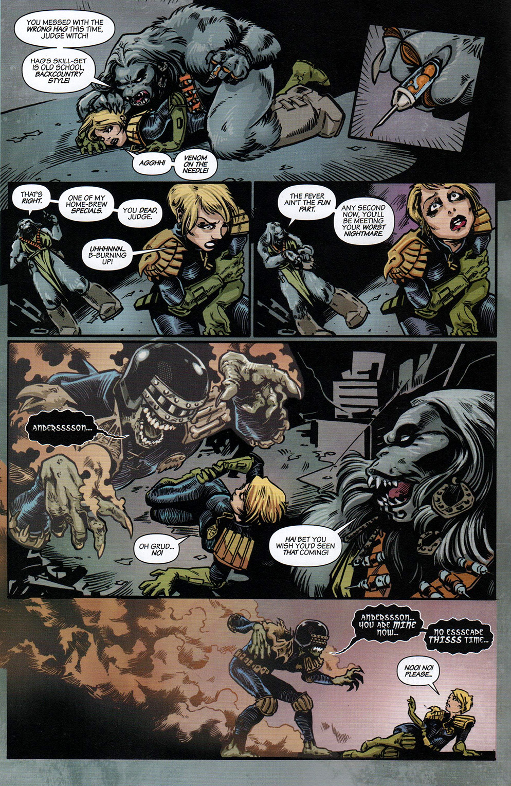 Read online Free Comic Book Day 2017 comic -  Issue # 2000 AD prog - 21