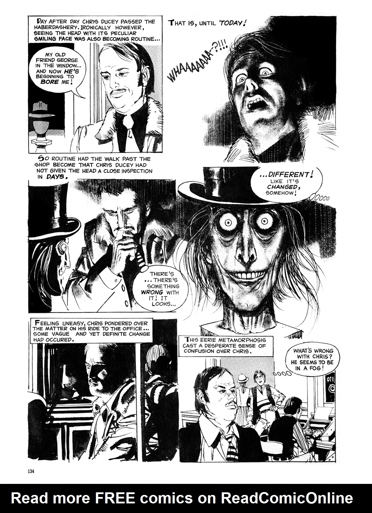 Read online Eerie Archives comic -  Issue # TPB 8 - 135