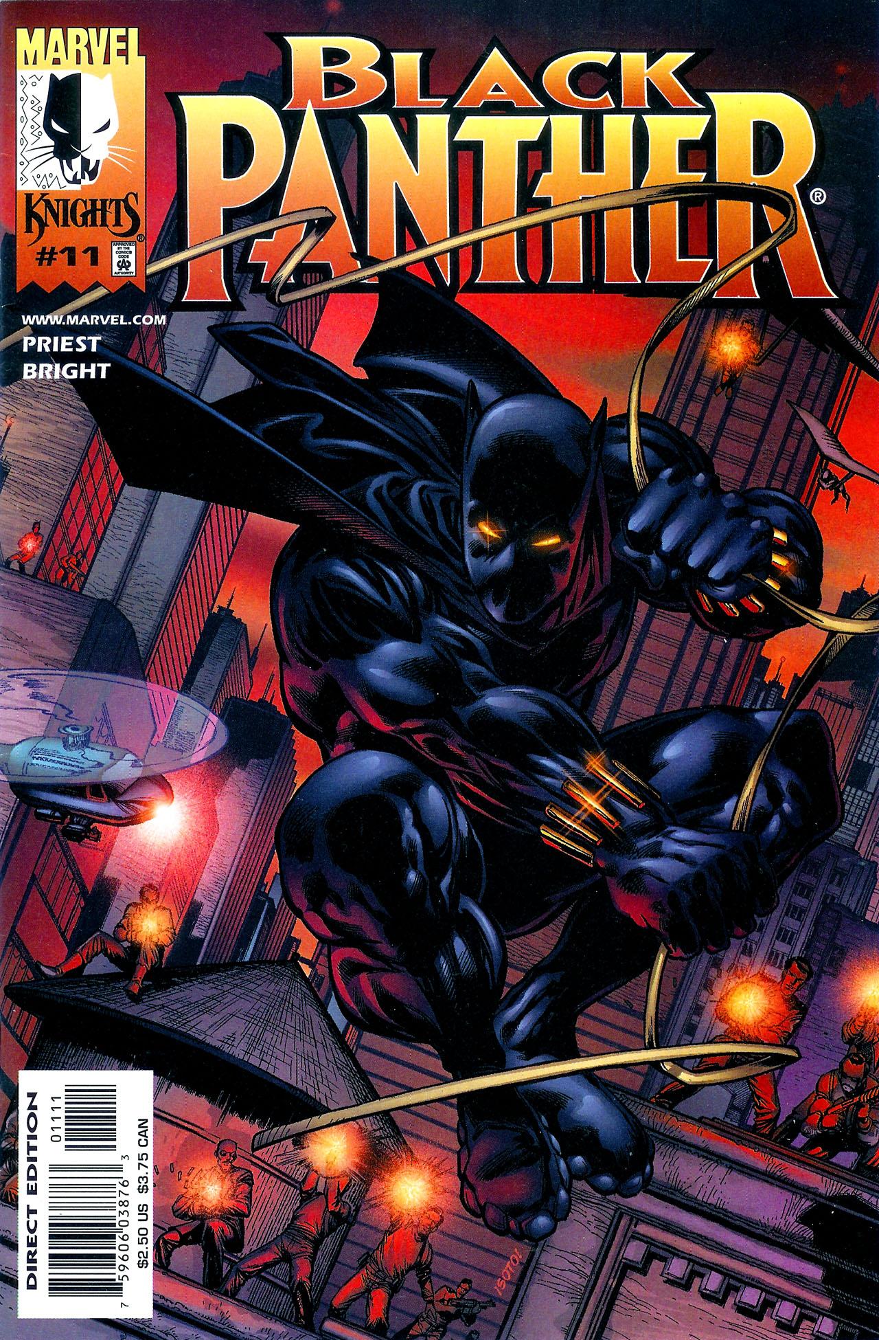 Black Panther (1998) 11 Page 1
