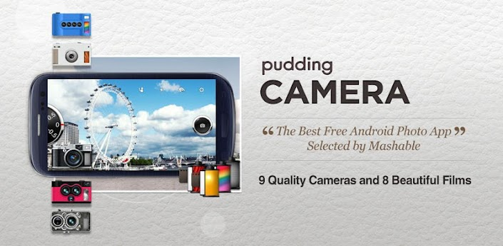 Pudding Camera - The Best Free Android Photography App