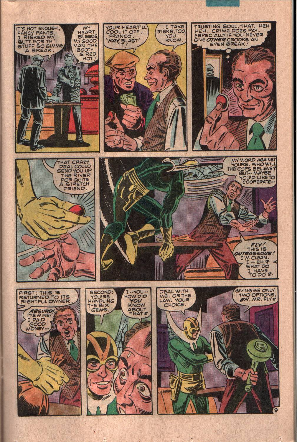 Read online The Fly (1983) comic -  Issue #7 - 10