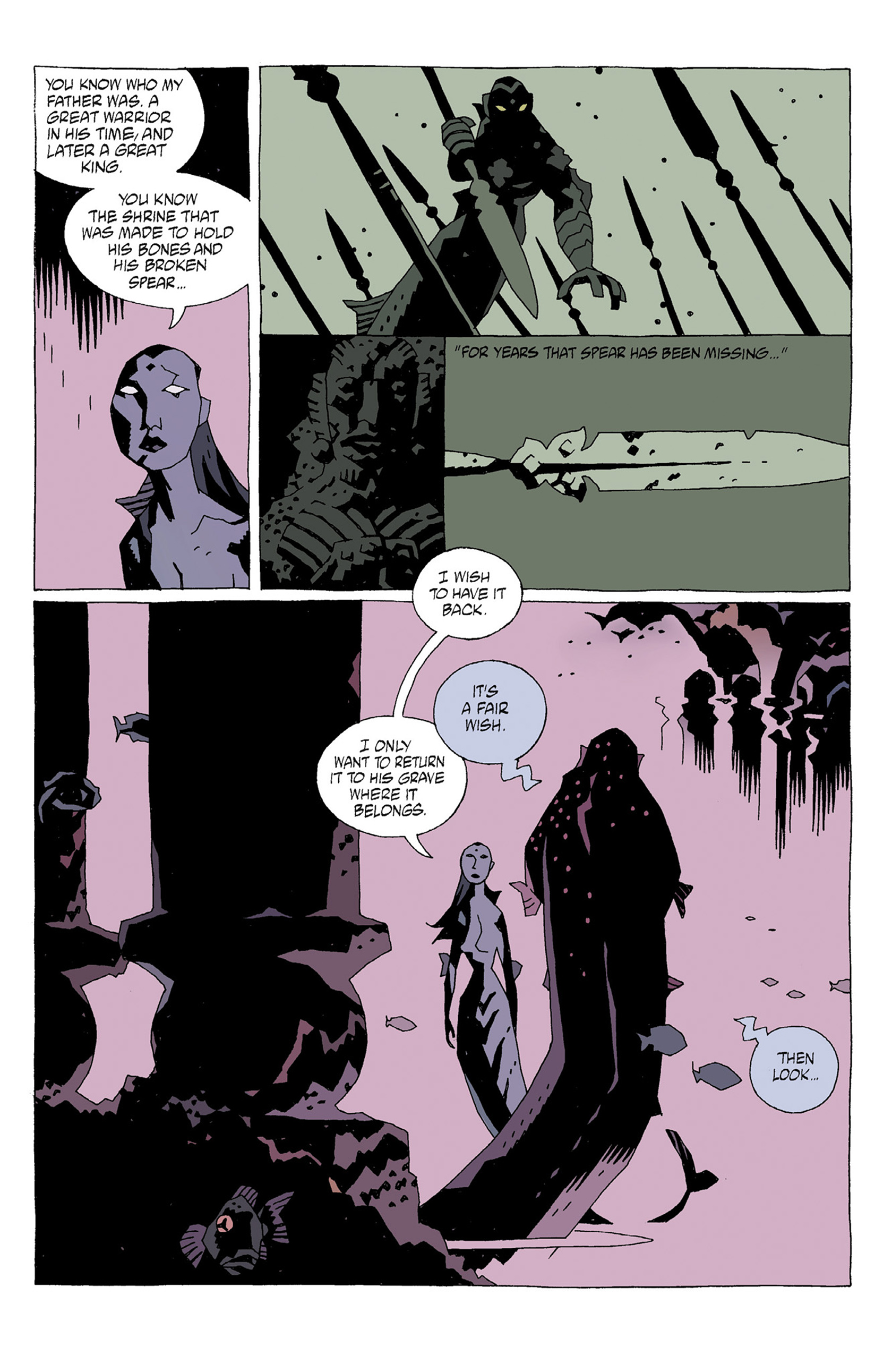 Read online Hellboy: Strange Places comic -  Issue # TPB - 35