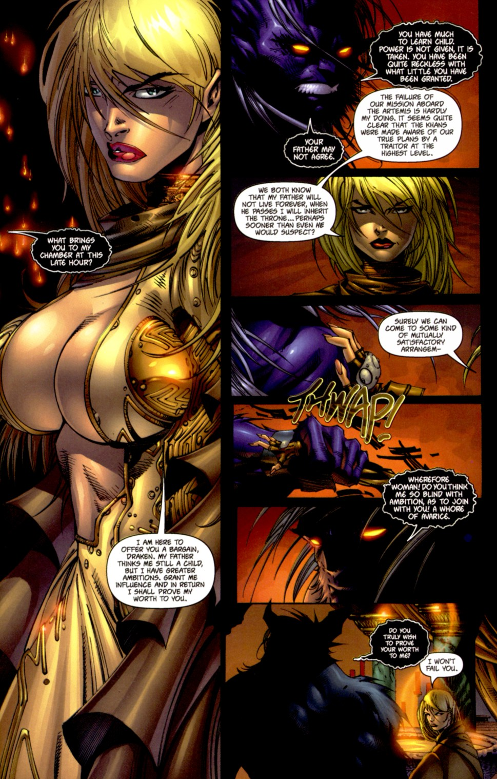 Read online Soul Saga comic -  Issue #4 - 11