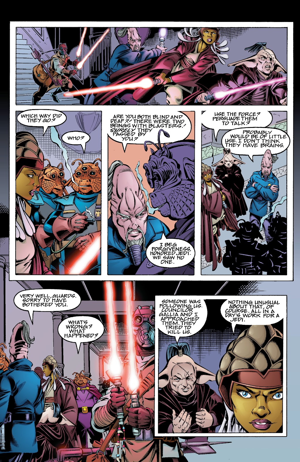 Read online Star Wars Legends Epic Collection: The Menace Revealed comic -  Issue # TPB (Part 3) - 88