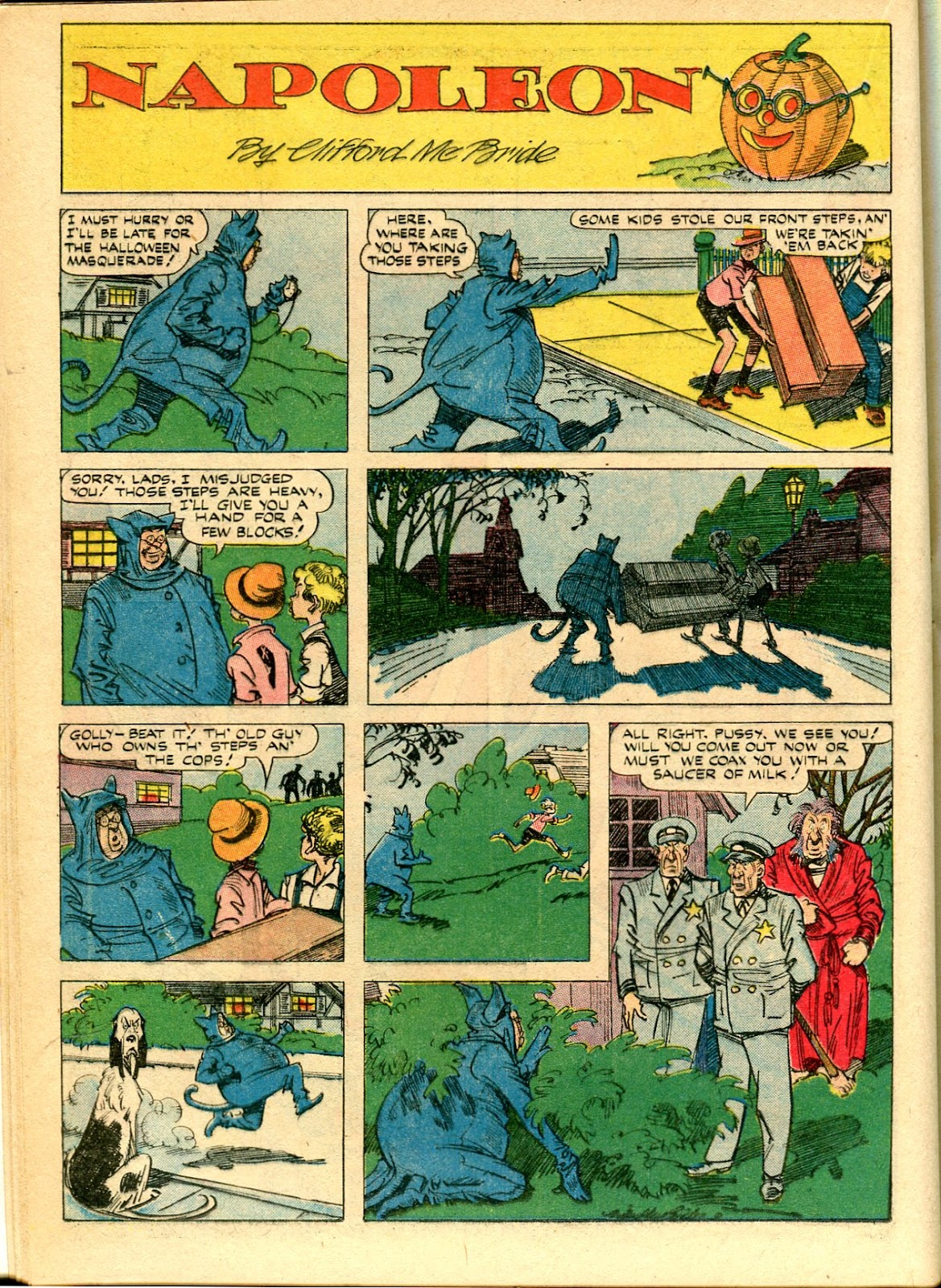 Read online Famous Funnies comic -  Issue #111 - 28