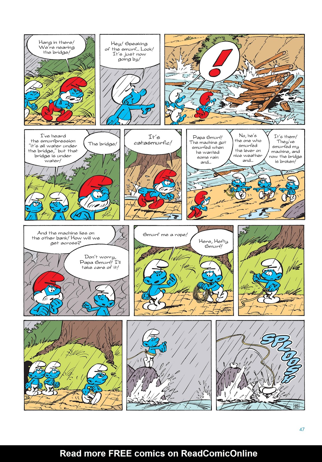 Read online The Smurfs comic -  Issue #14 - 48