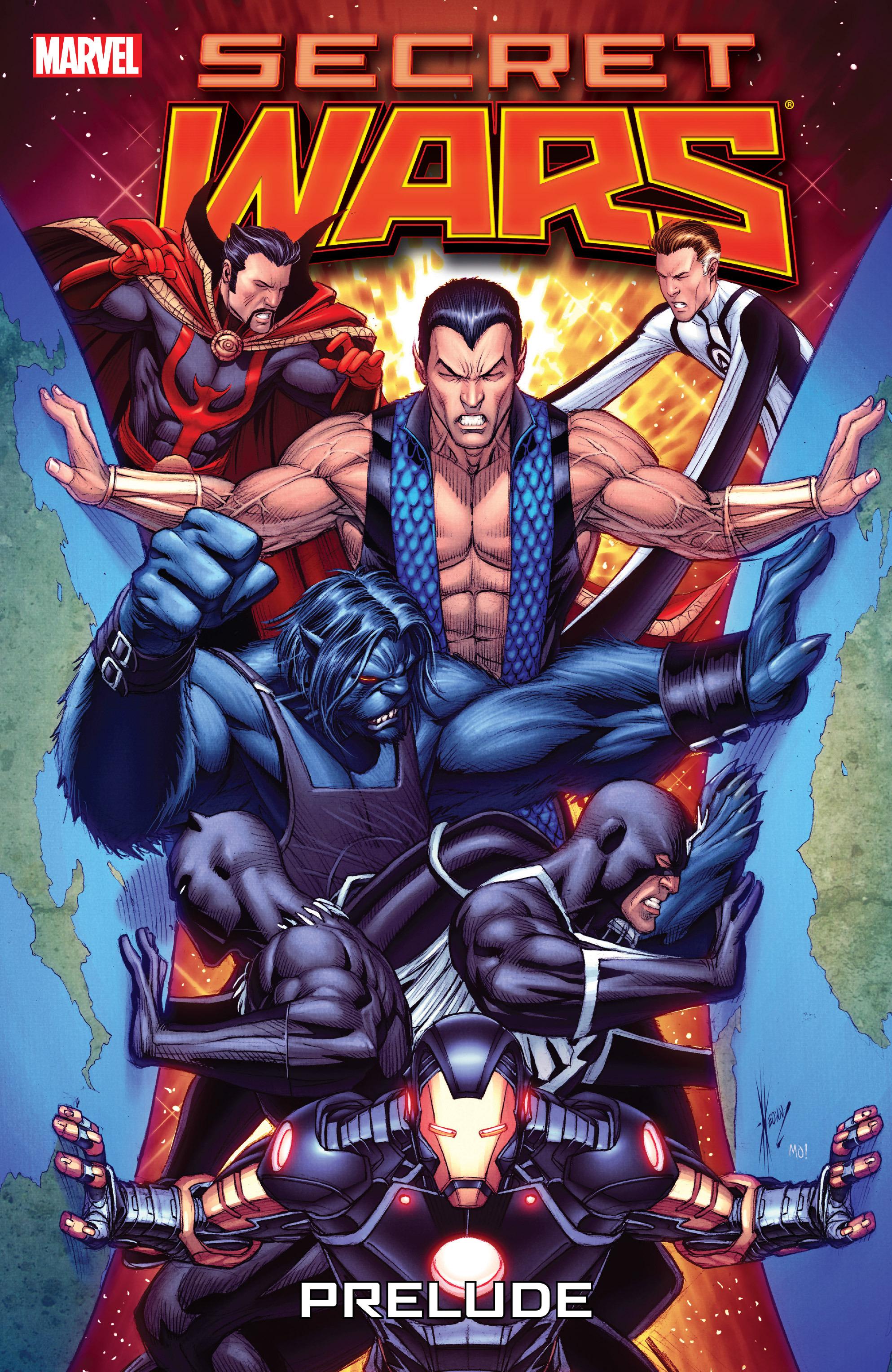 Read online Secret Wars Prelude comic -  Issue # Full - 1