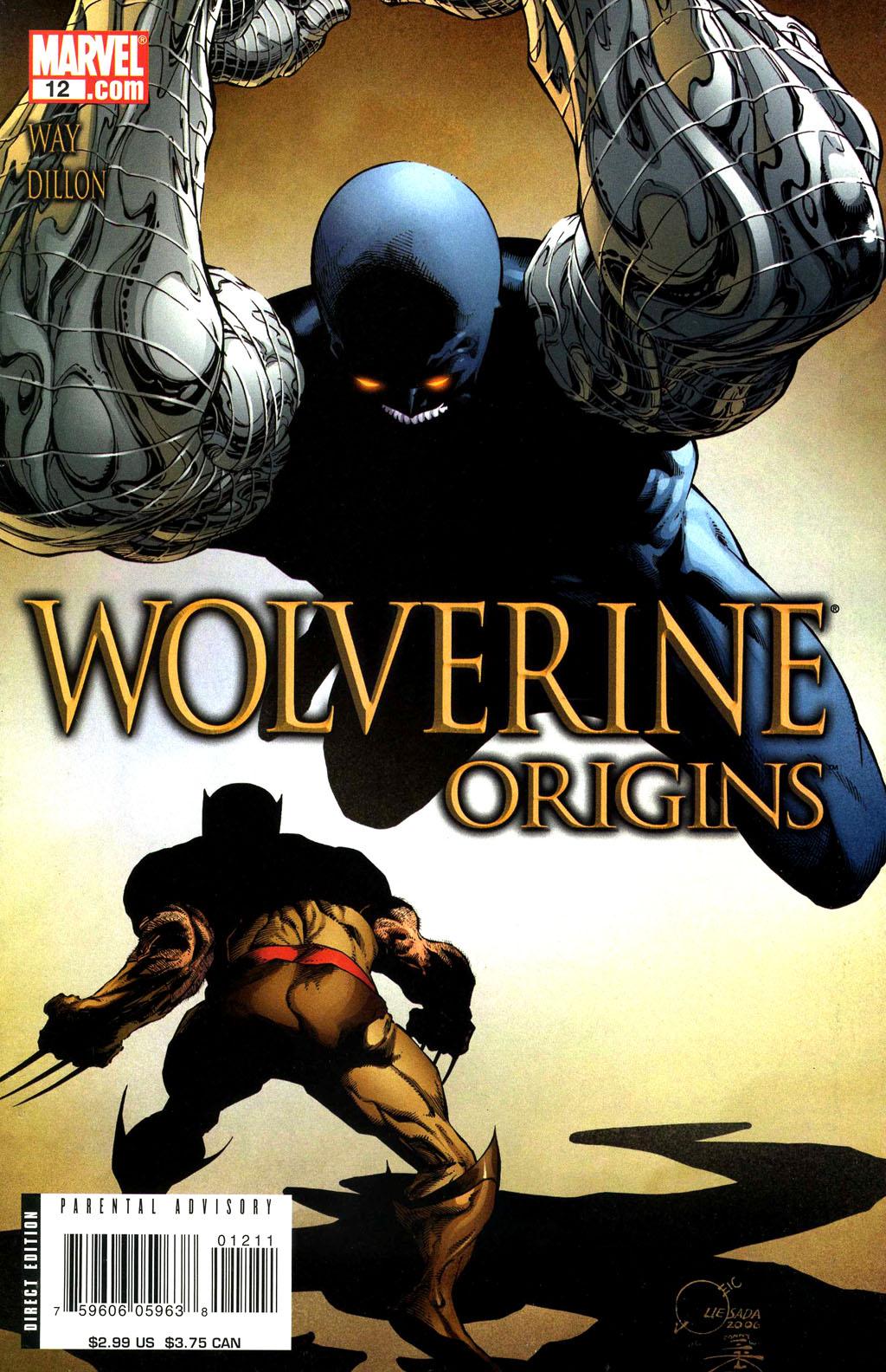 Read online Wolverine: Origins comic -  Issue #12 - 1