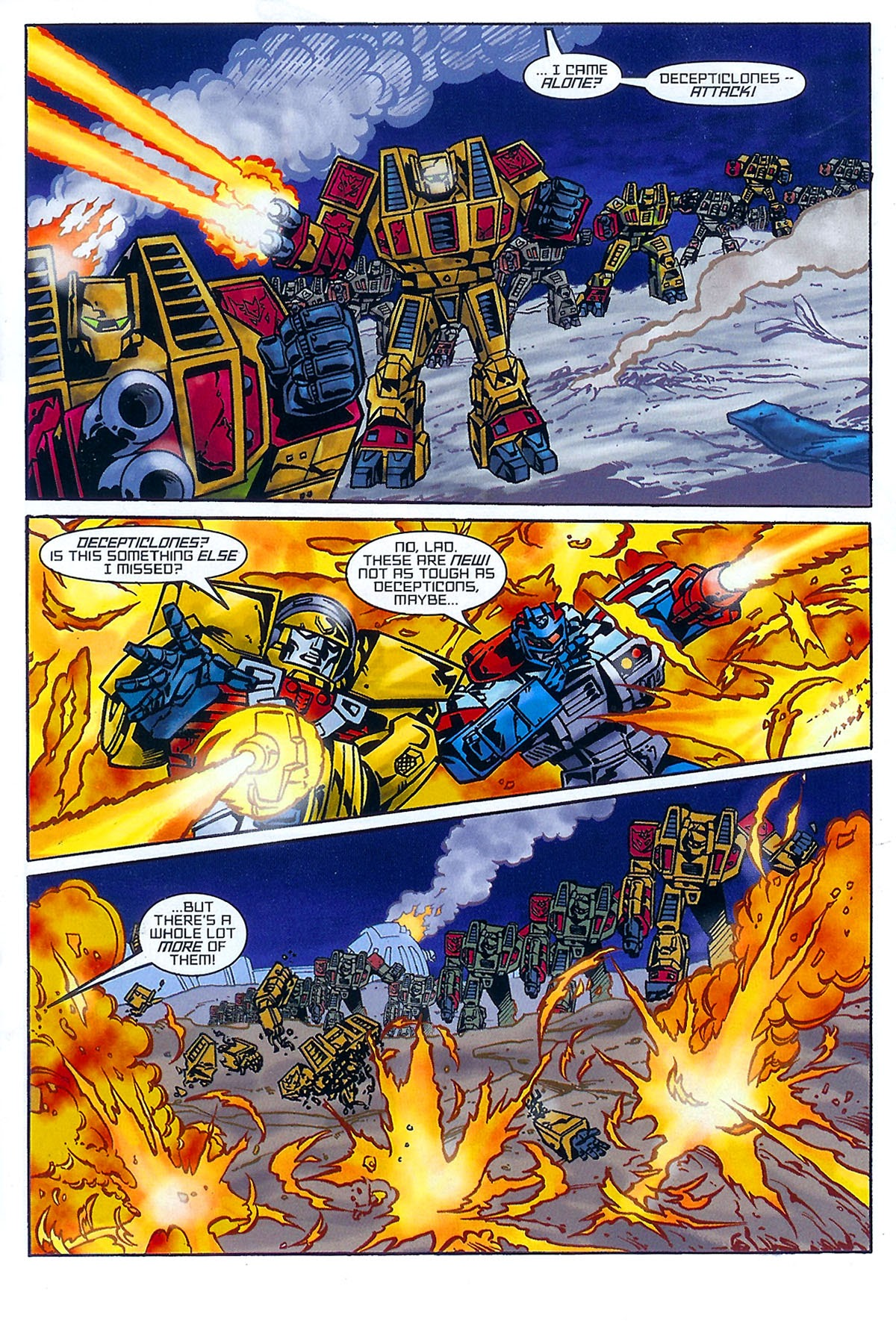 Read online Transformers: The Balance of Power comic -  Issue # Full - 8