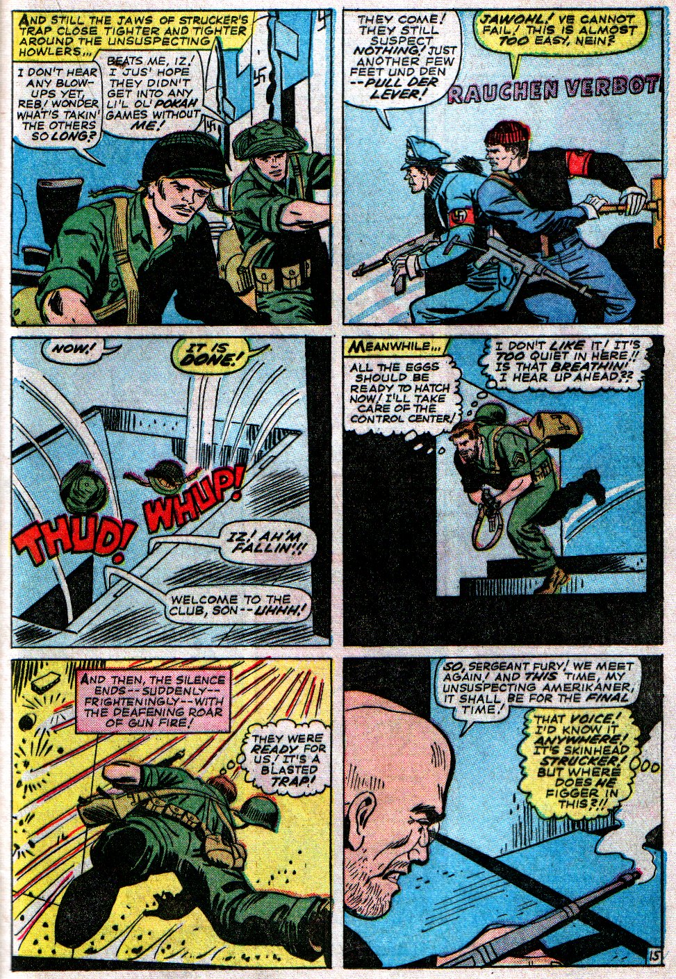 Read online Sgt. Fury comic -  Issue #14 - 21