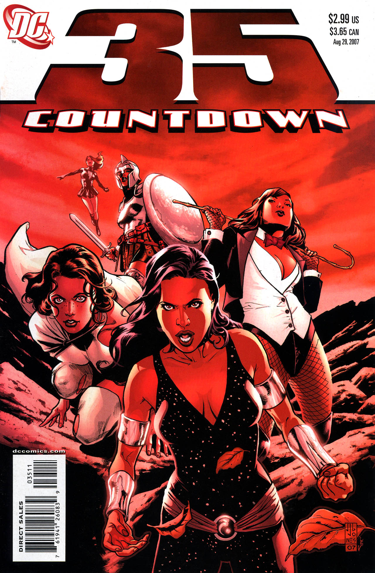 Countdown (2007) 35 Page 1