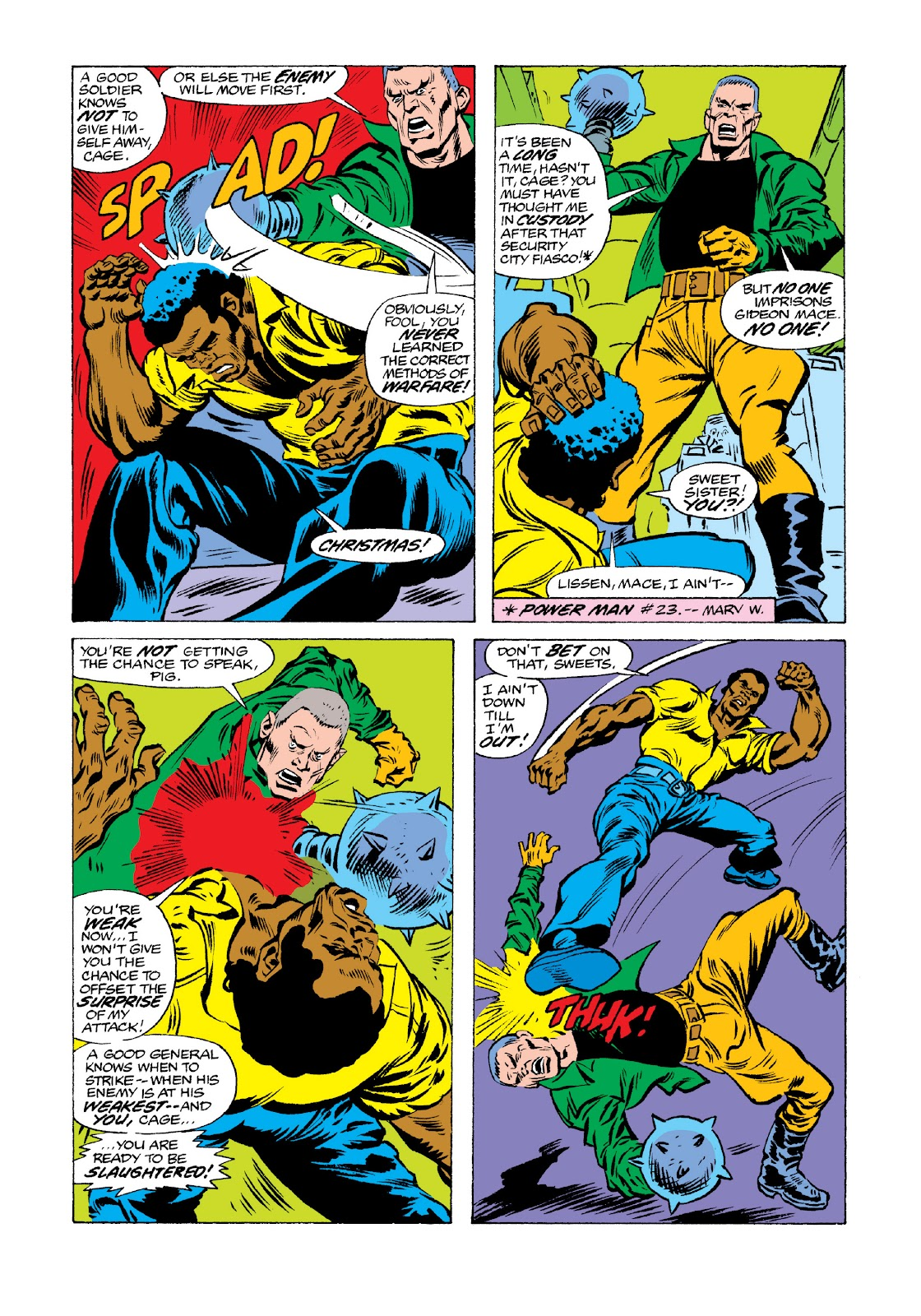 Read online Marvel Masterworks: Luke Cage, Power Man comic -  Issue # TPB 3 (Part 3) - 38