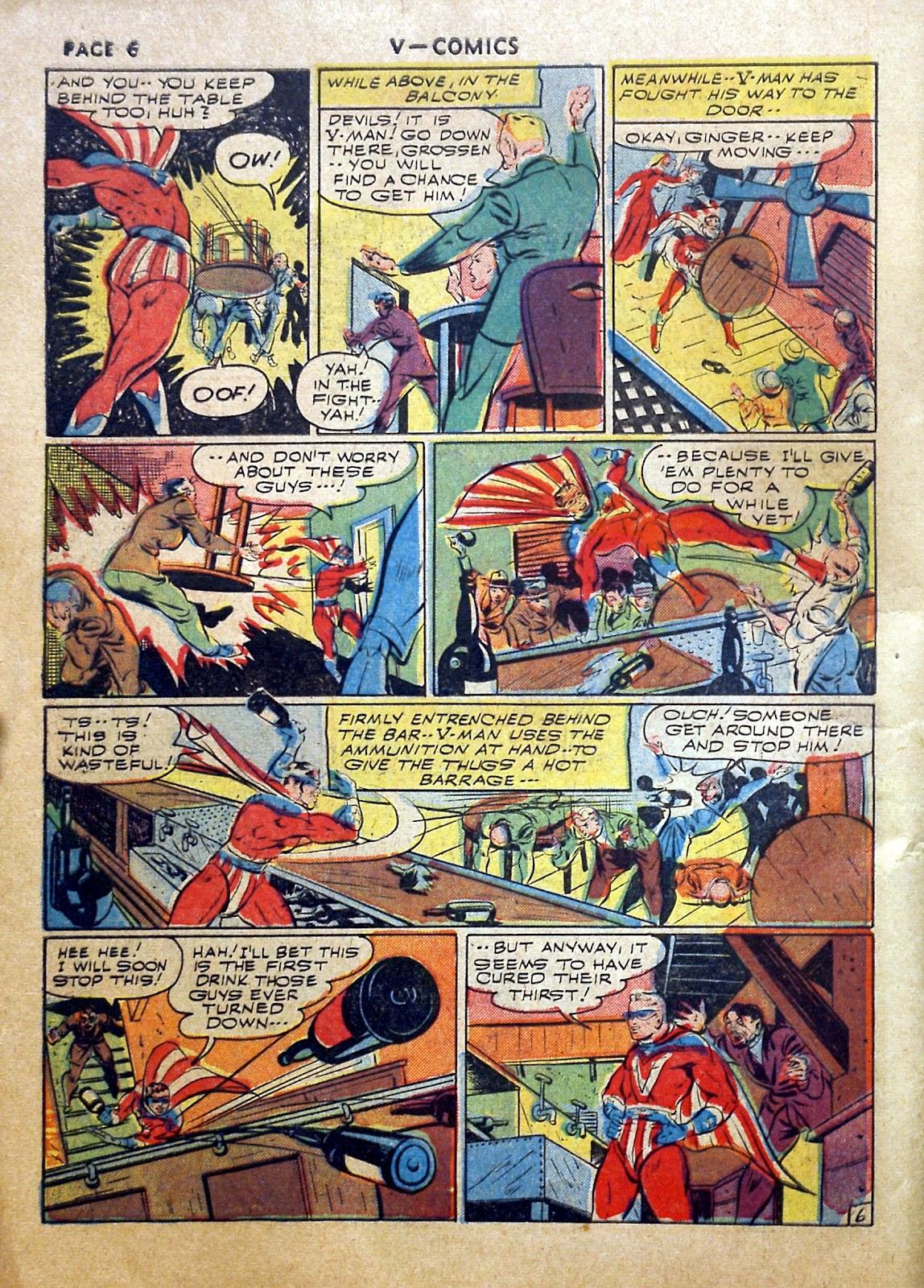 Read online V...- Comics comic -  Issue #2 - 7
