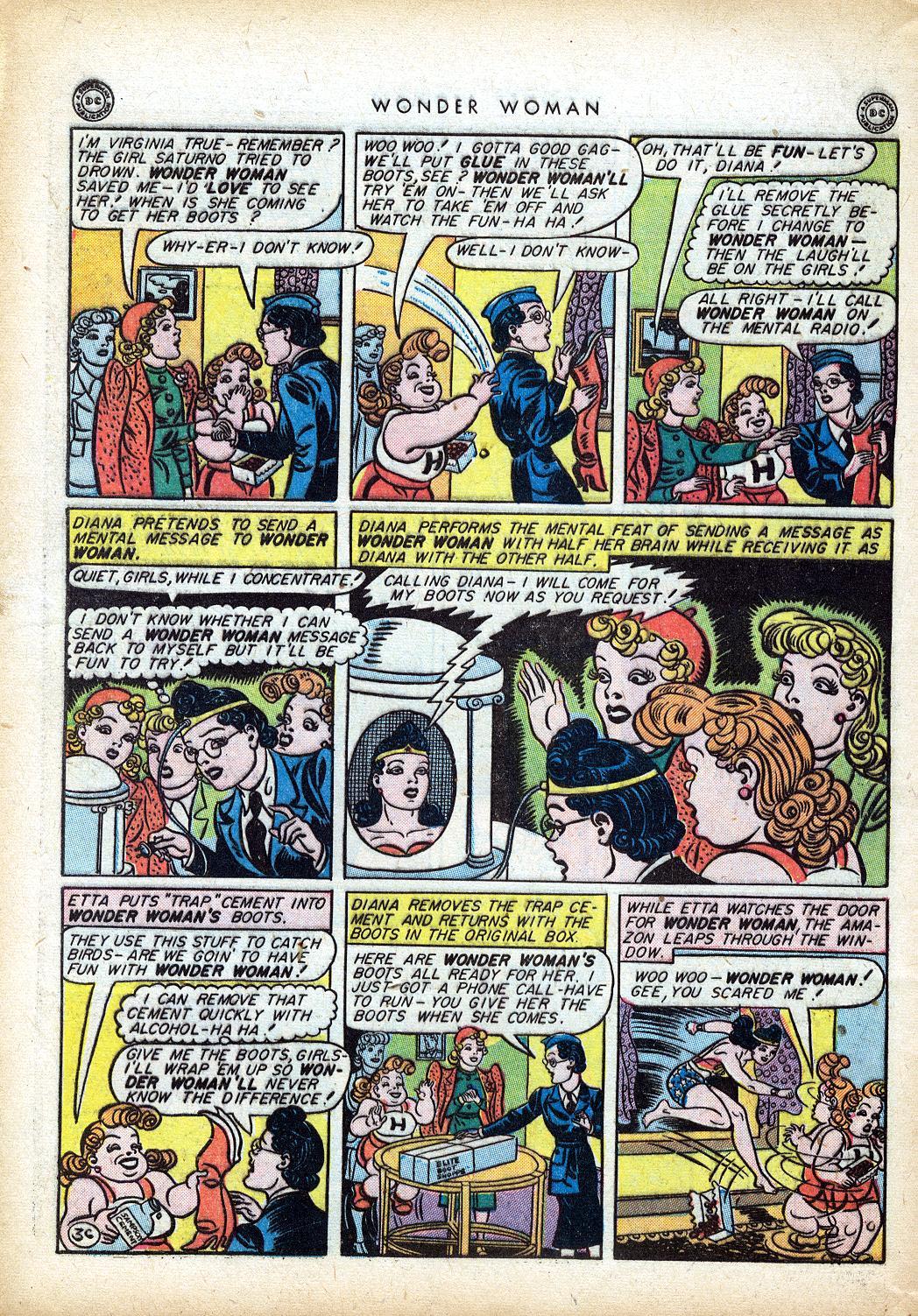 Read online Wonder Woman (1942) comic -  Issue #10 - 41