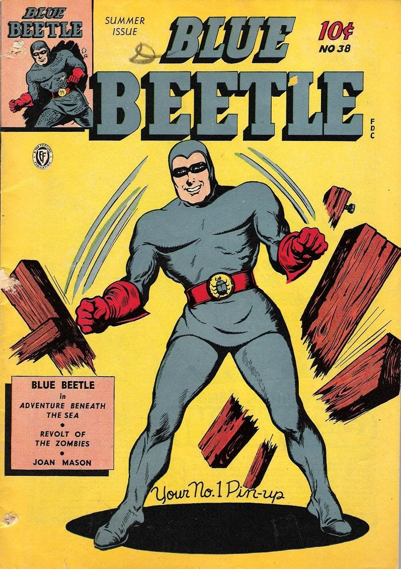 The Blue Beetle issue 38 - Page 1