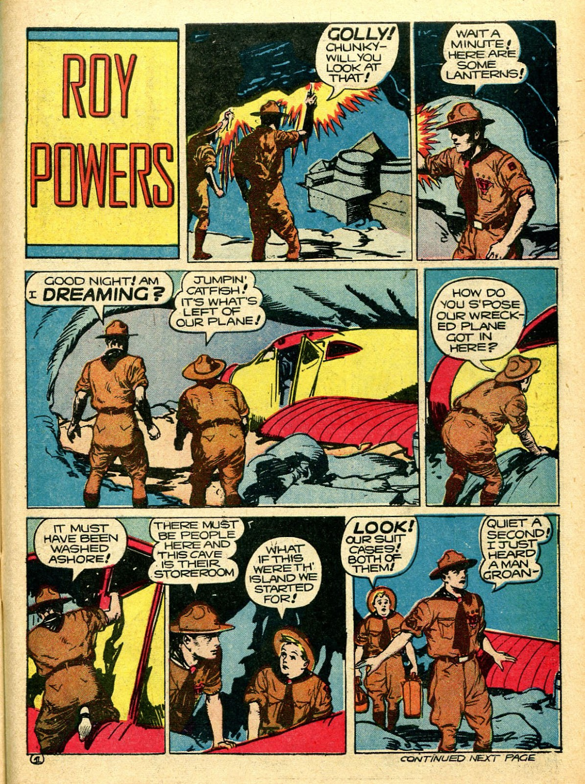 Read online Famous Funnies comic -  Issue #94 - 51