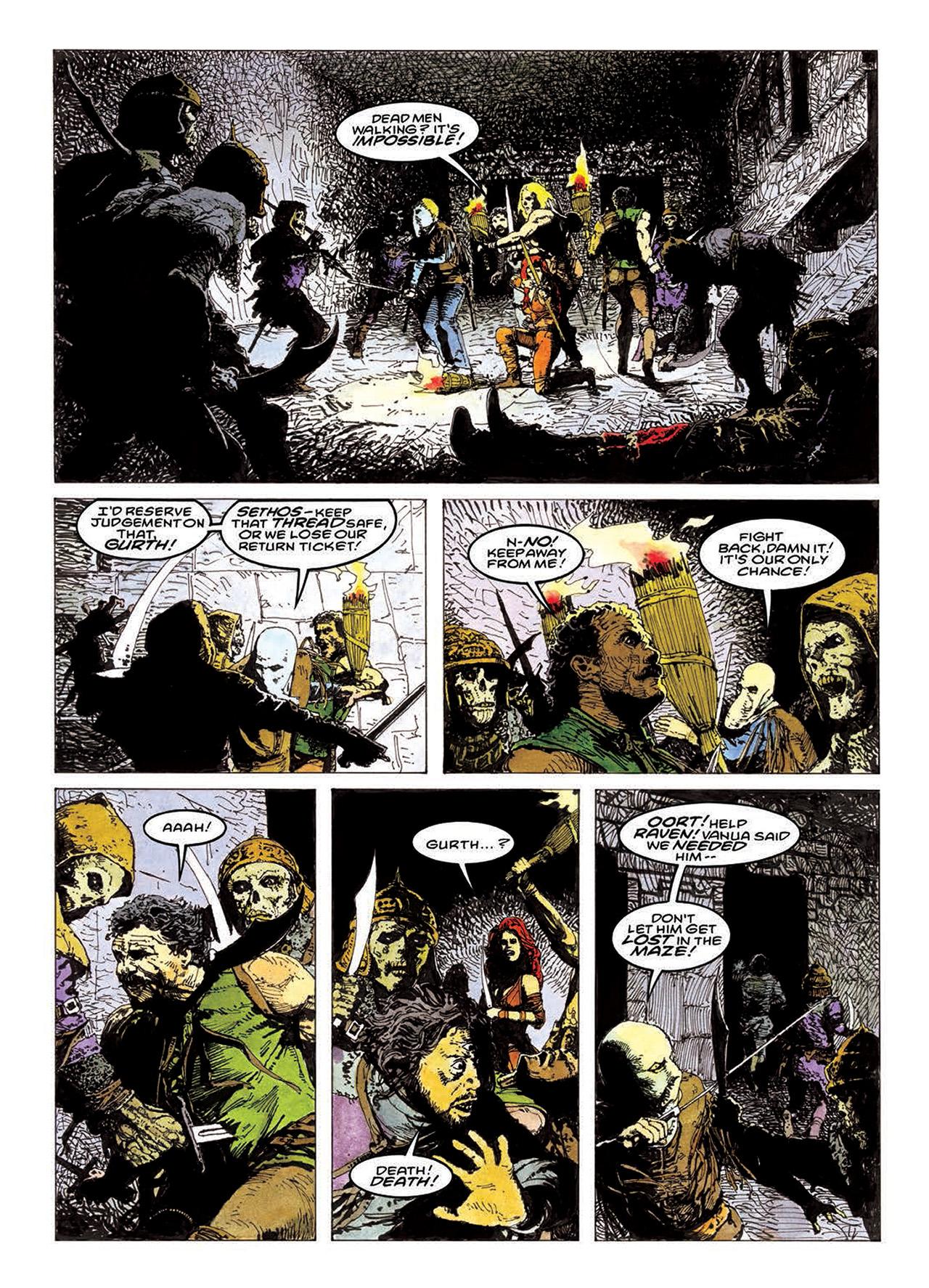 Read online Mazeworld comic -  Issue # TPB - 145