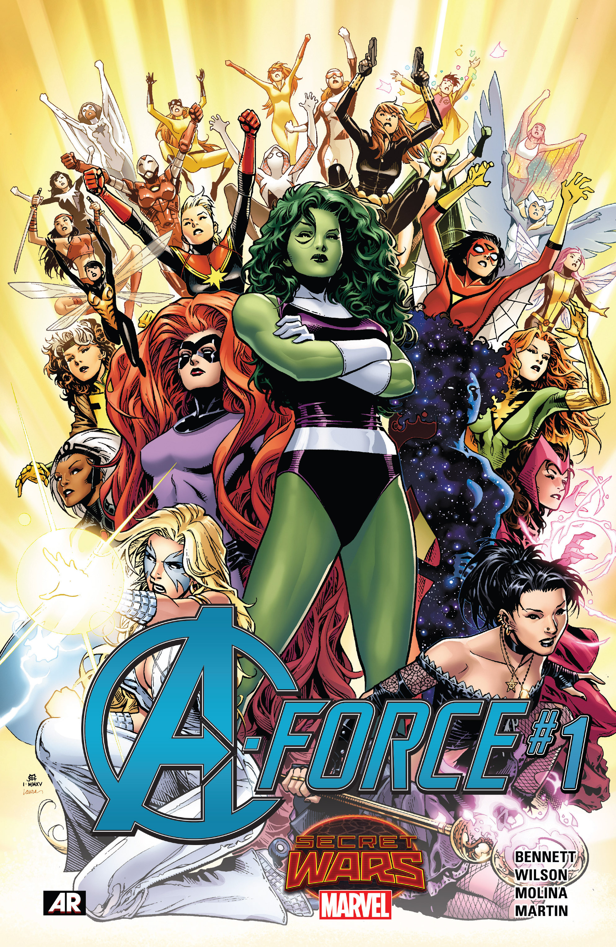 Read online A-Force (2015) comic -  Issue #1 - 1