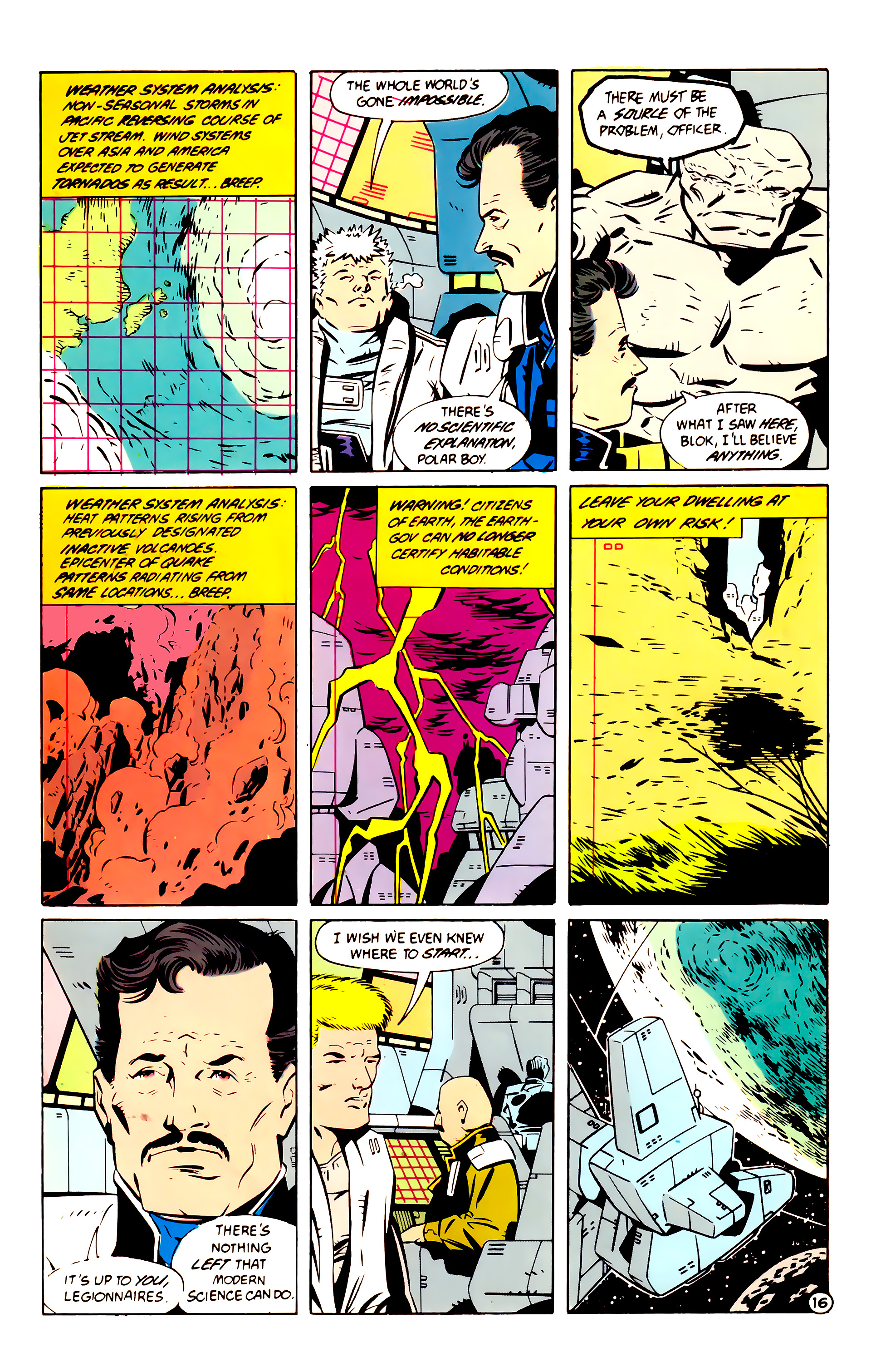 Legion of Super-Heroes (1984) 60 Page 16