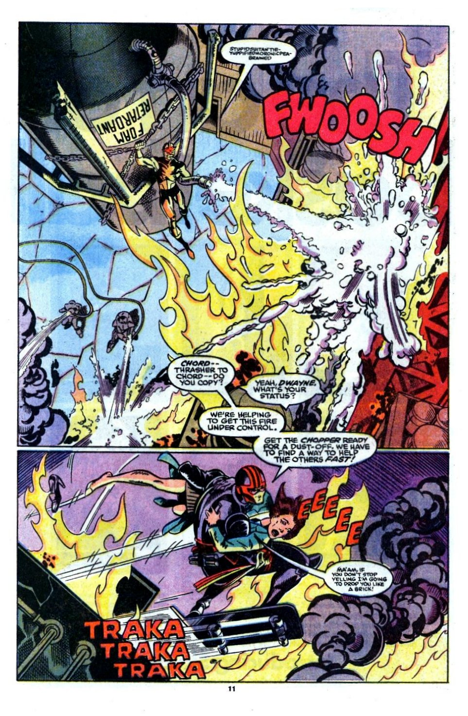 The New Warriors Issue #6 #10 - English 9