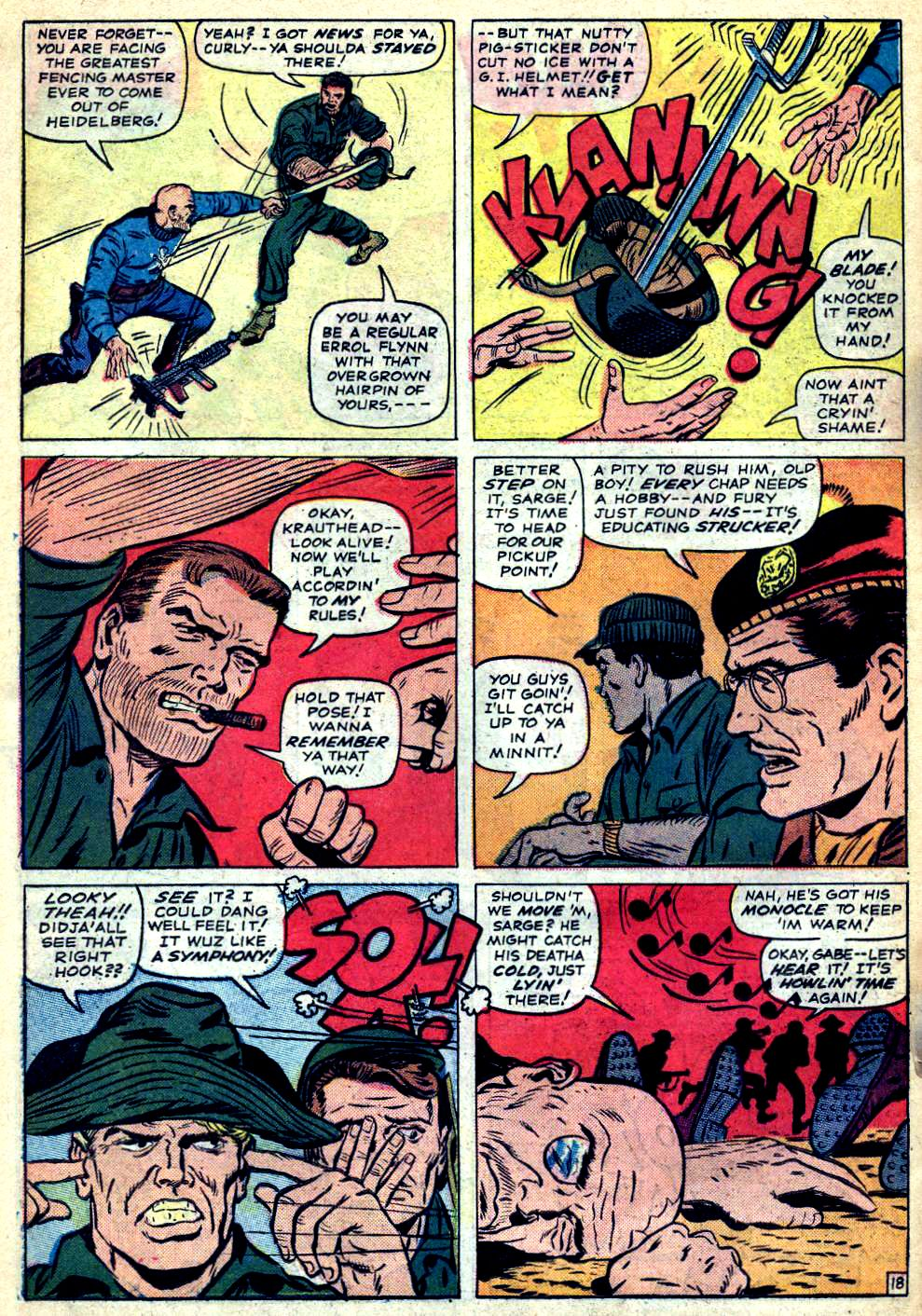 Read online Sgt. Fury comic -  Issue #22 - 26