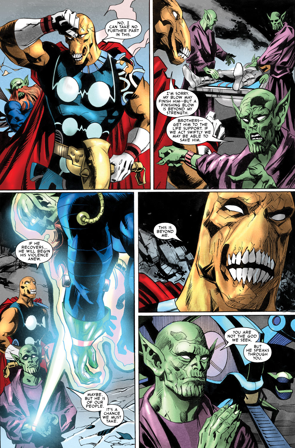 Read online Secret Invasion Aftermath: Beta Ray Bill - The Green of Eden comic -  Issue # Full - 30