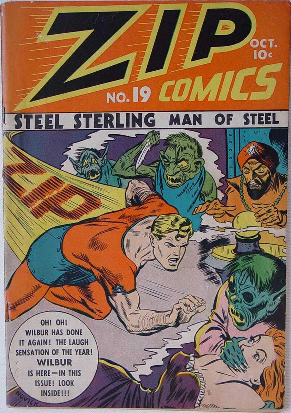 Zip Comics 19 Page 1