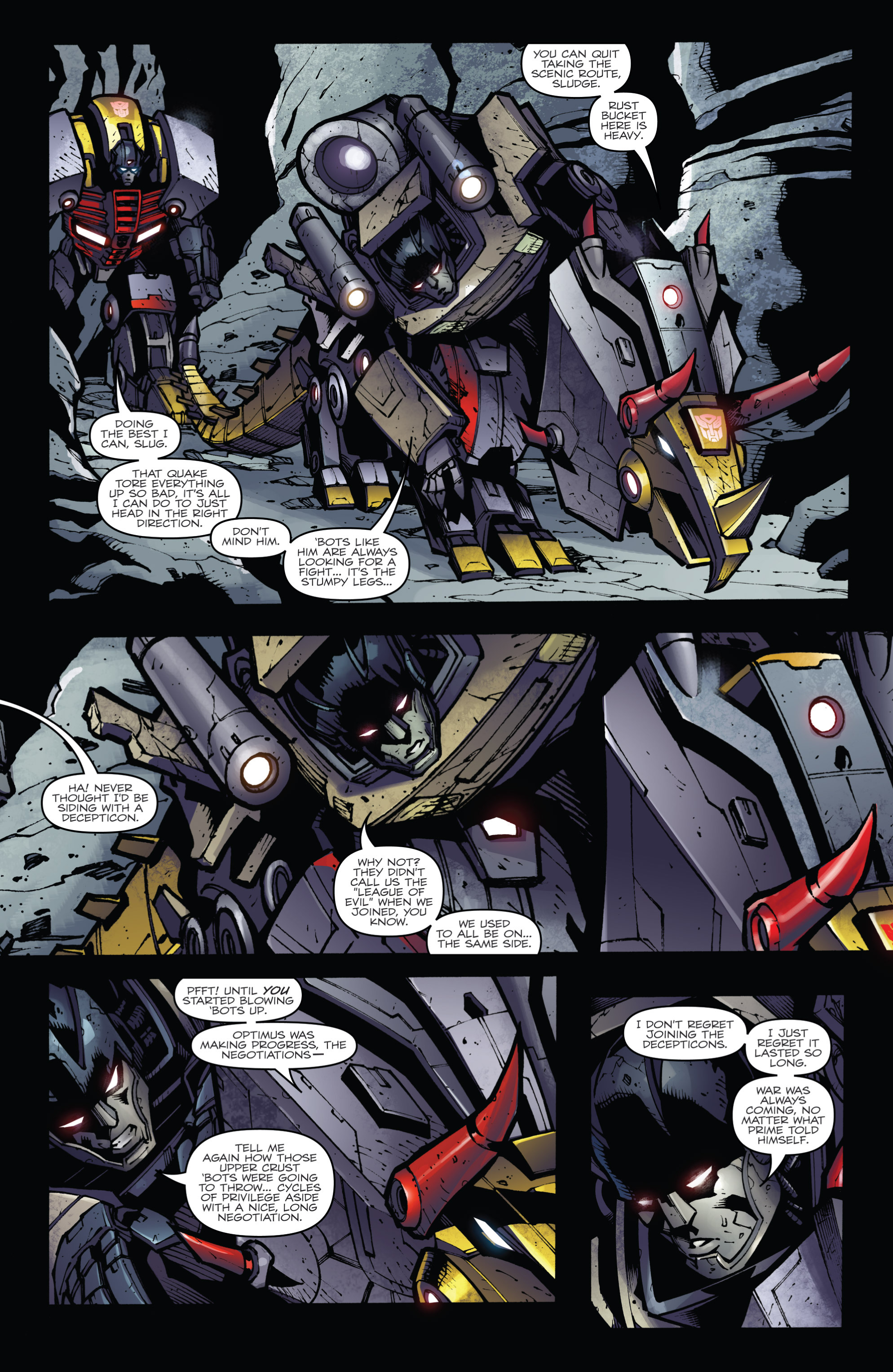 Read online Transformers Prime: Beast Hunters comic -  Issue #6 - 13