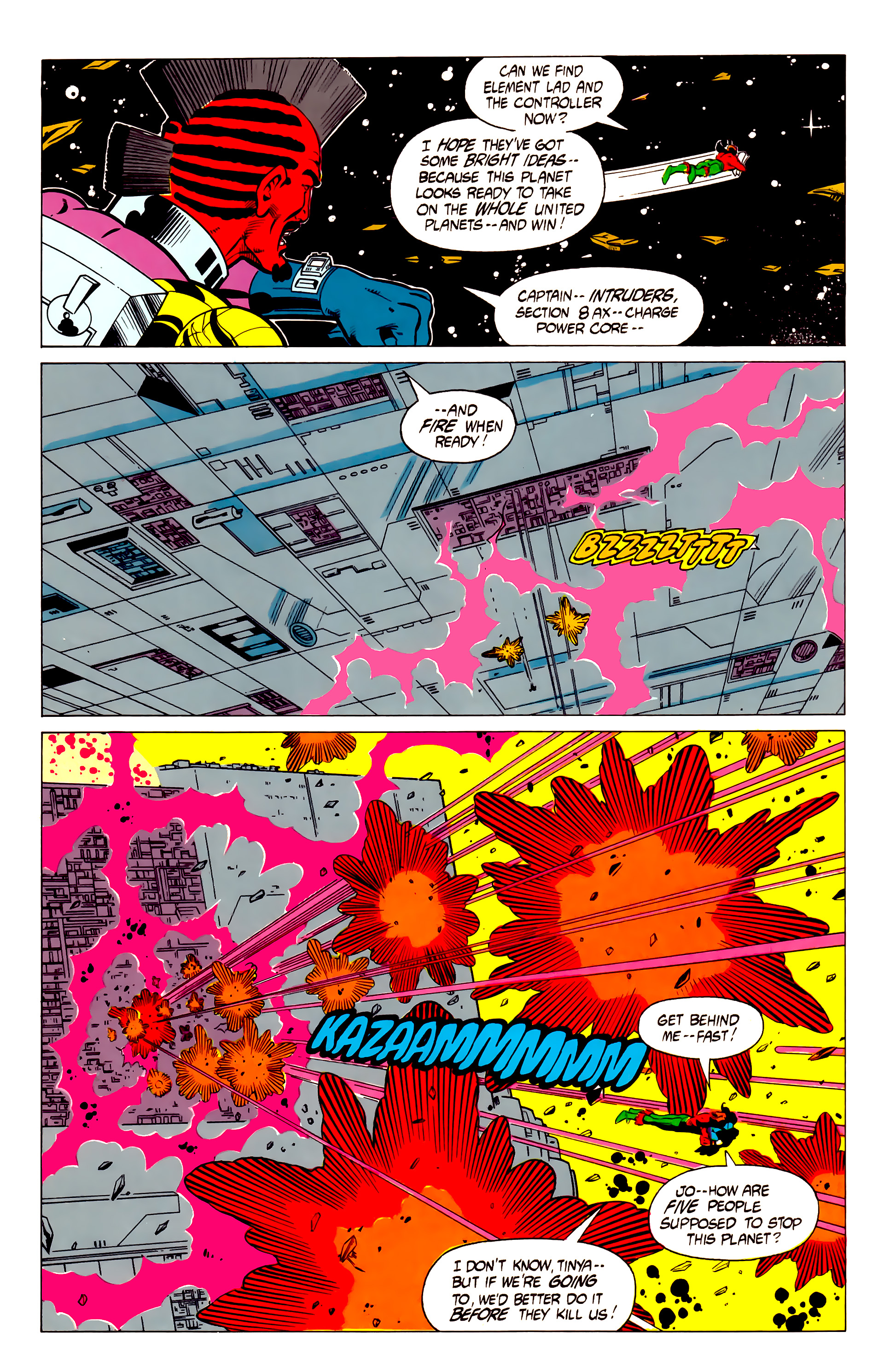 Legion of Super-Heroes (1984) 19 Page 19