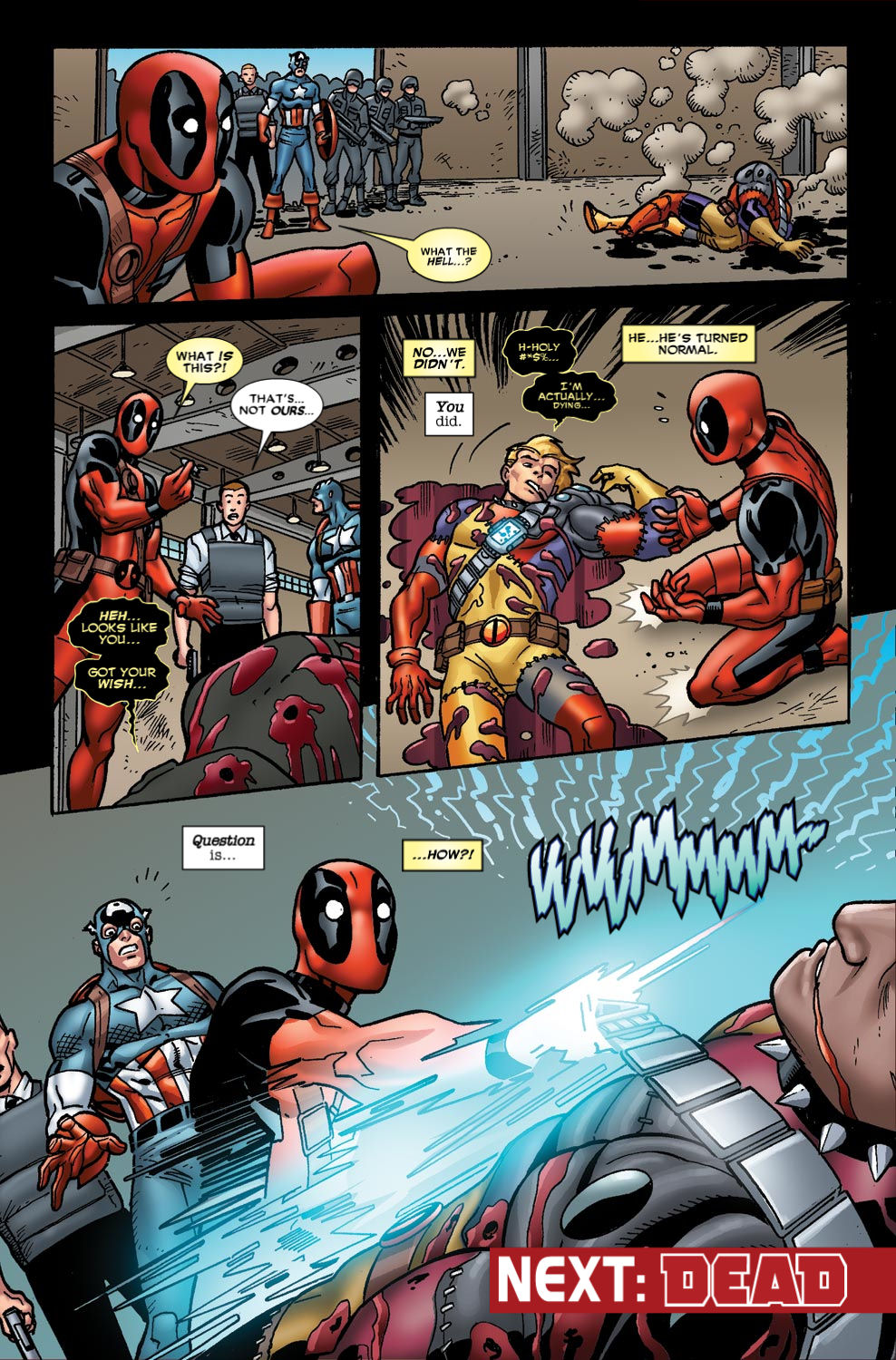 Read online Deadpool (2008) comic -  Issue #49 - 22