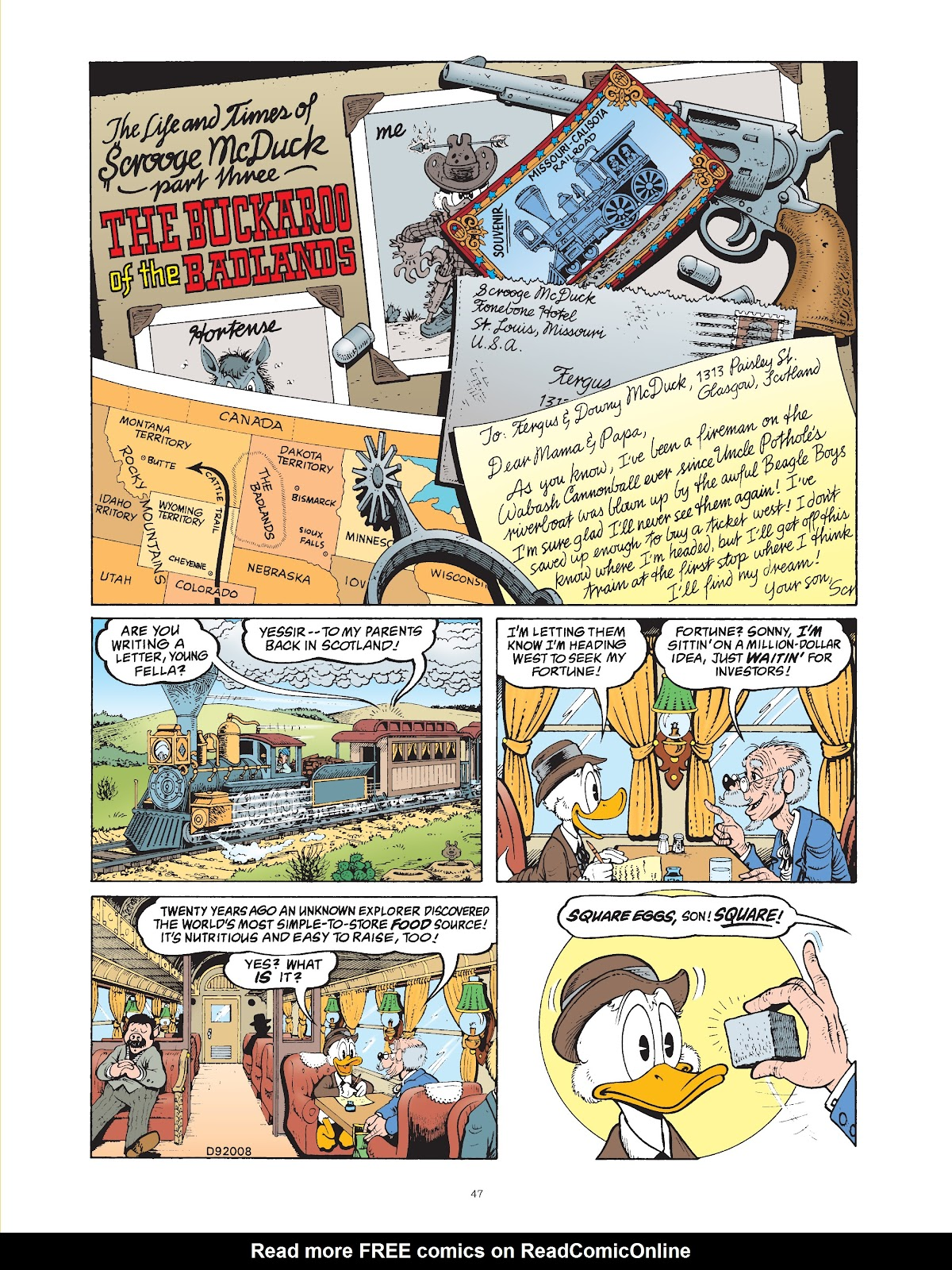 Read online The Complete Life and Times of Scrooge McDuck comic -  Issue # TPB 1 (Part 1) - 52