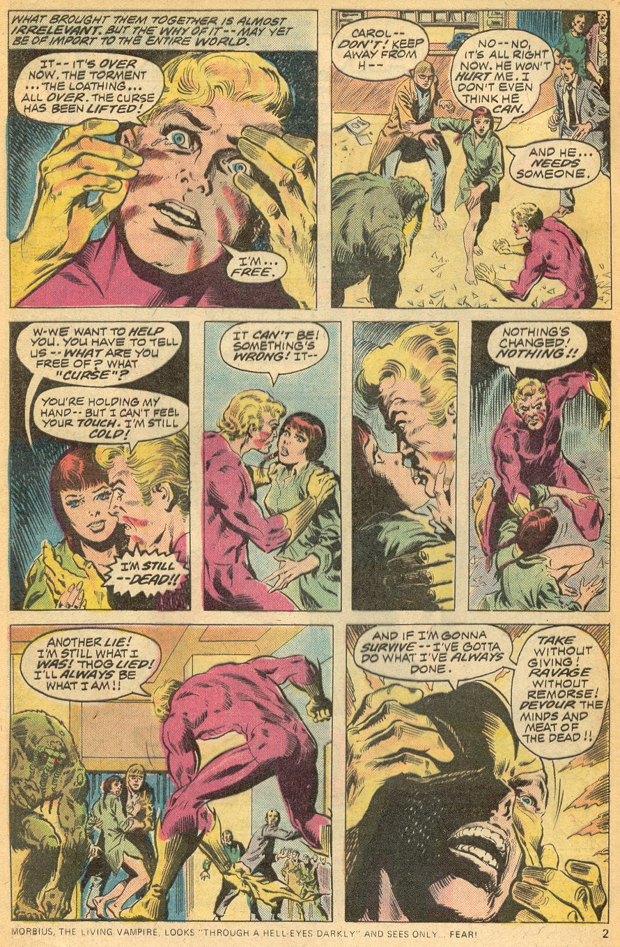 Man-Thing (1974) issue 20 - Page 3