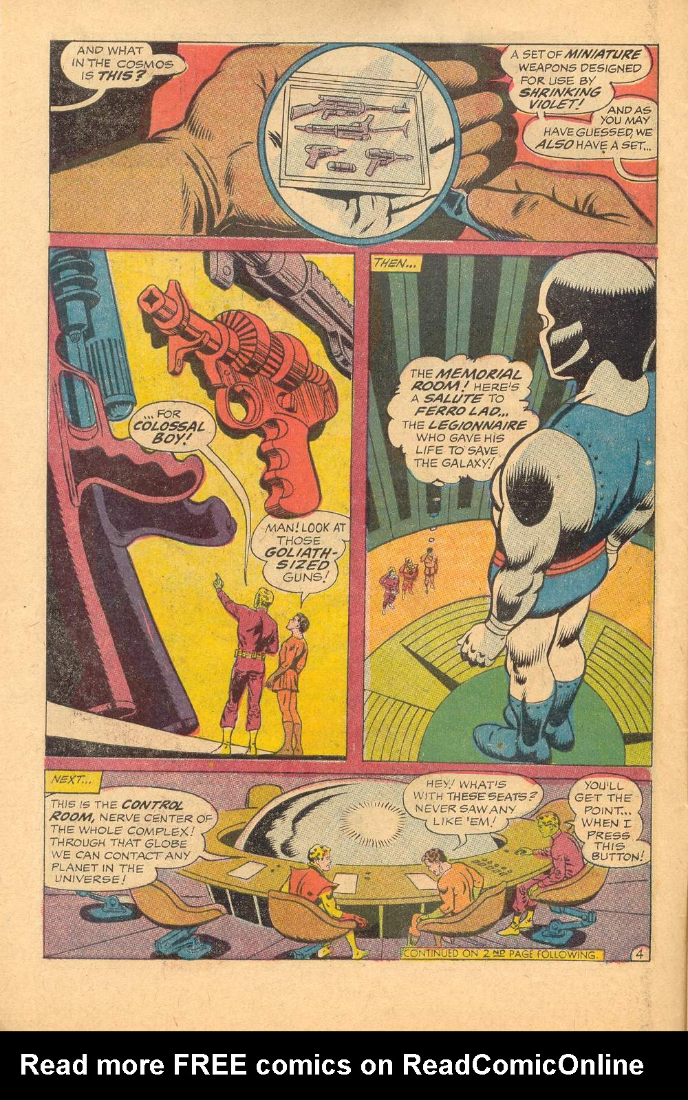 Read online Adventure Comics (1938) comic -  Issue #367 - 7