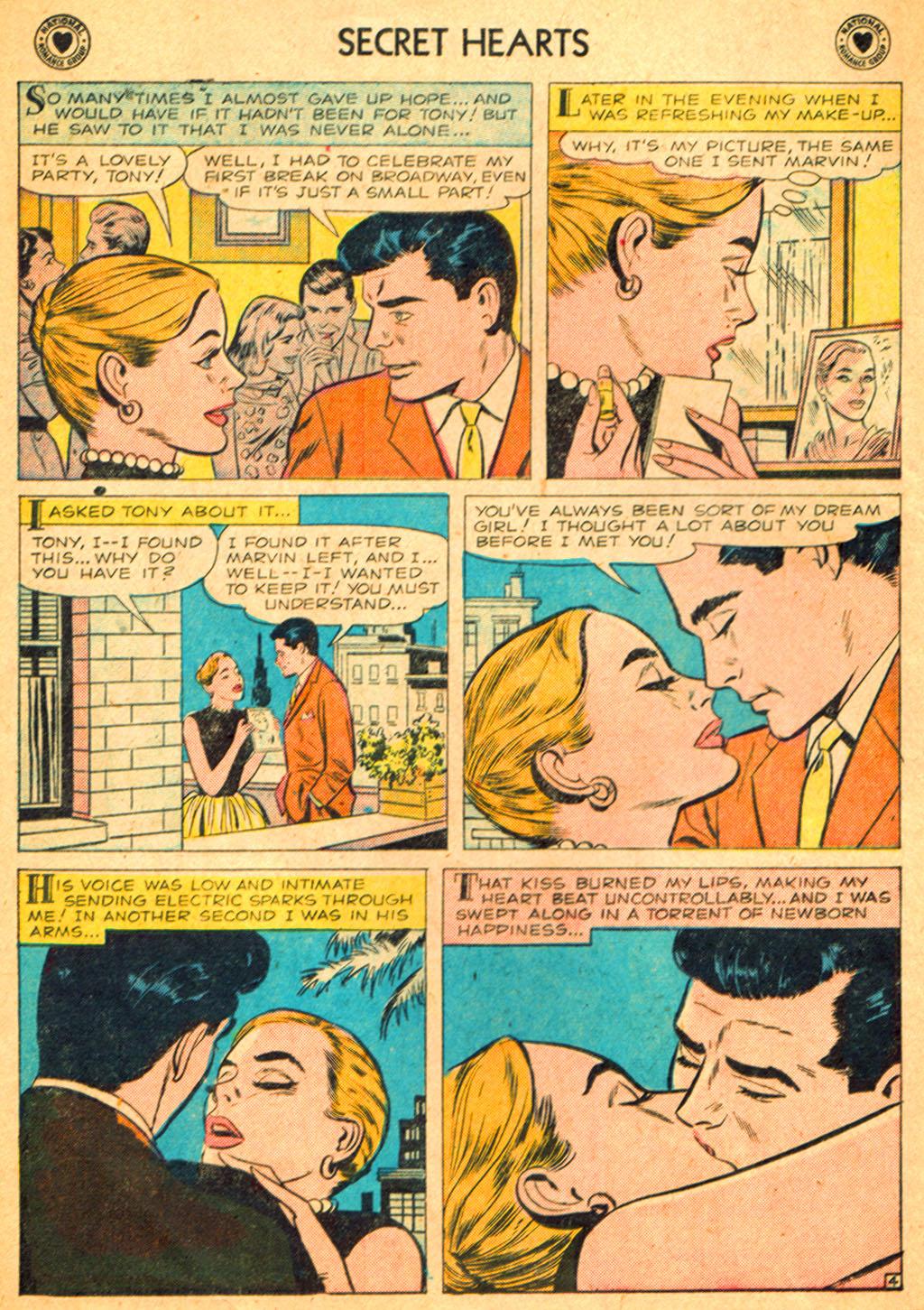 Read online Secret Hearts comic -  Issue #51 - 14