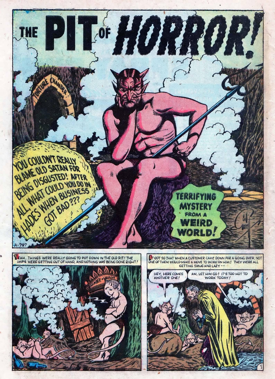 Read online Adventures into Weird Worlds comic -  Issue #10 - 27