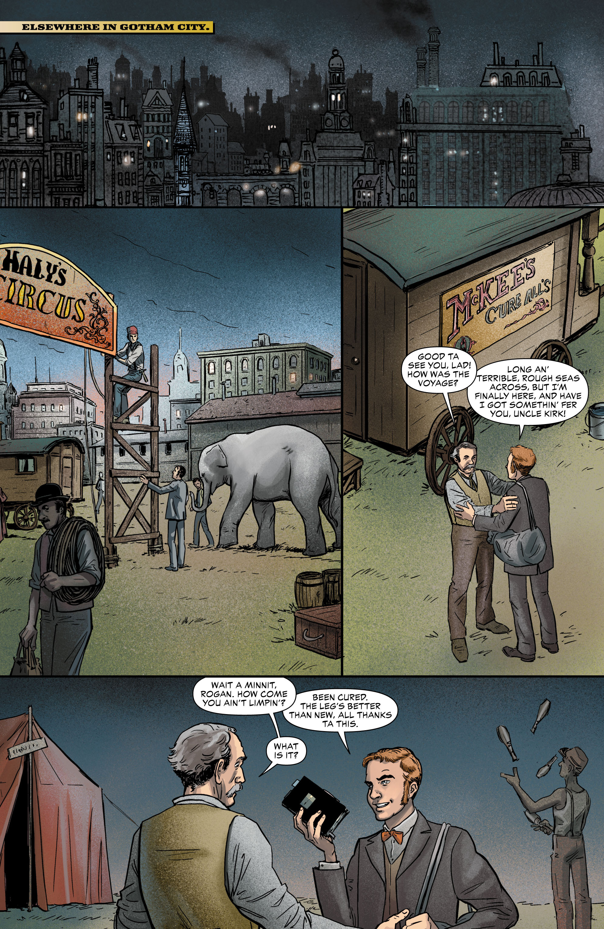 Read online All-Star Western (2011) comic -  Issue #0 - 29