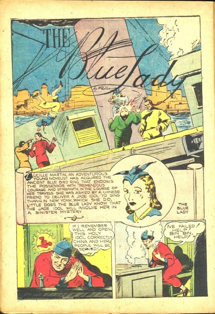 Read online Amazing Man Comics comic -  Issue #25 - 52