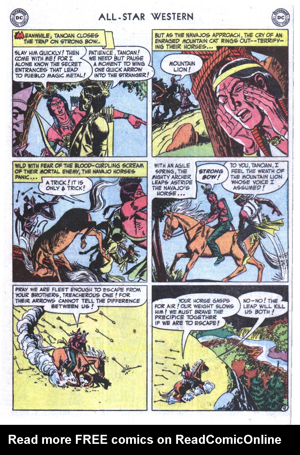 Read online All-Star Western (1951) comic -  Issue #59 - 47