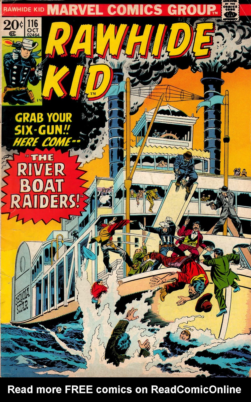 The Rawhide Kid (1955) issue 116 - Page 1