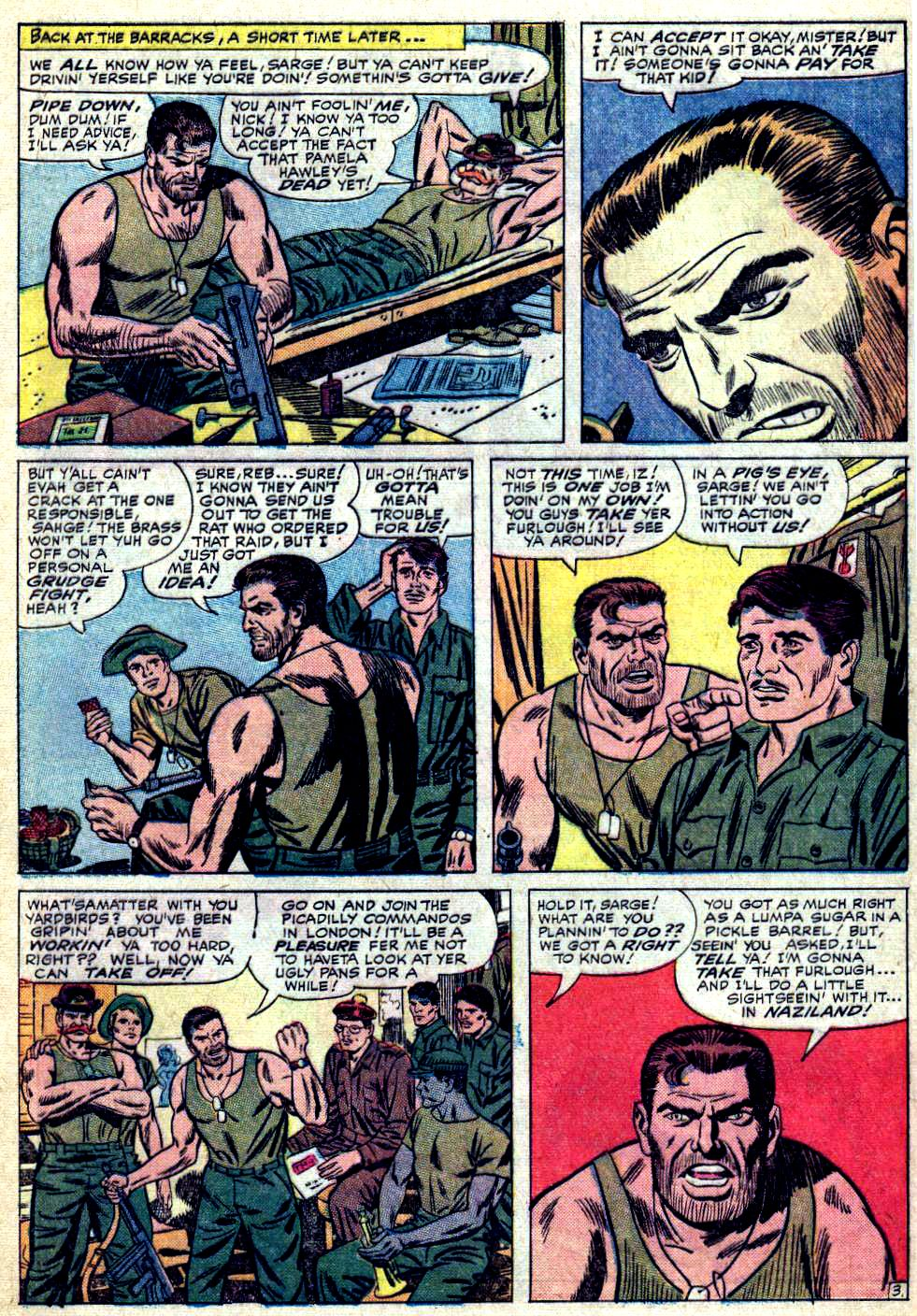 Read online Sgt. Fury comic -  Issue #19 - 5