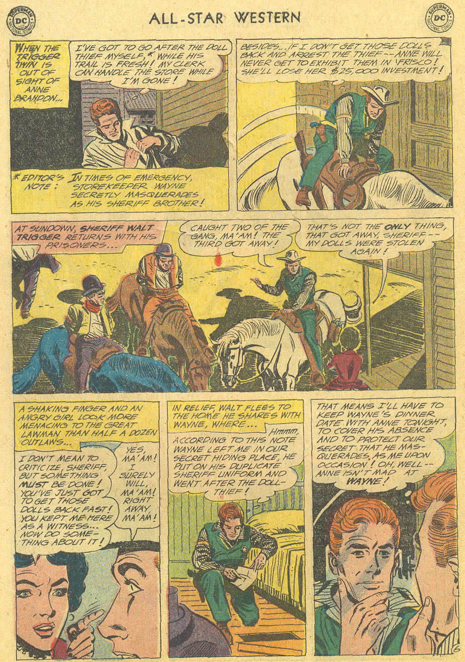 Read online All-Star Western (1951) comic -  Issue #114 - 30