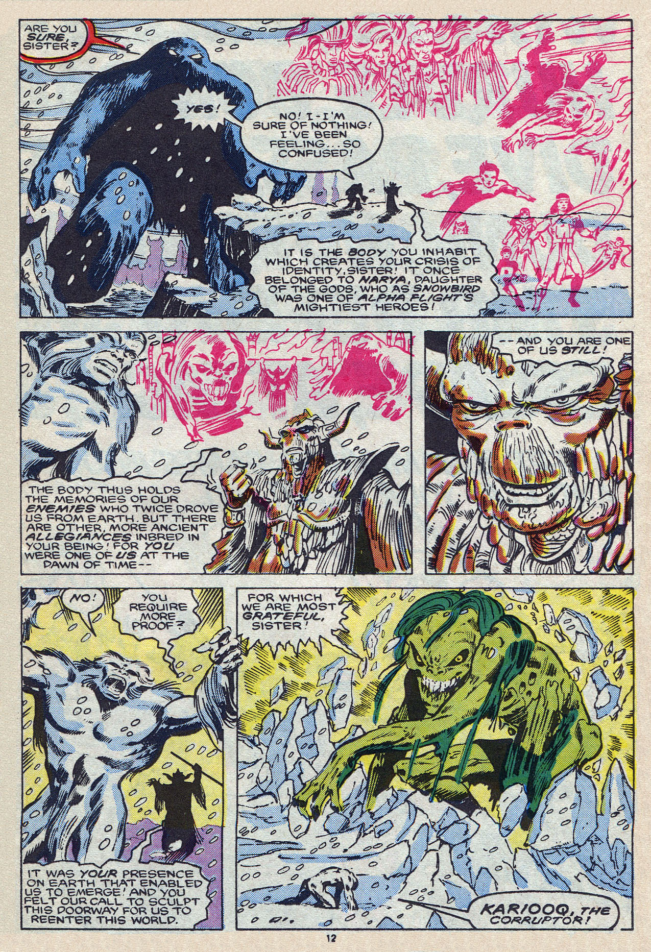 Read online Alpha Flight (1983) comic -  Issue #55 - 17