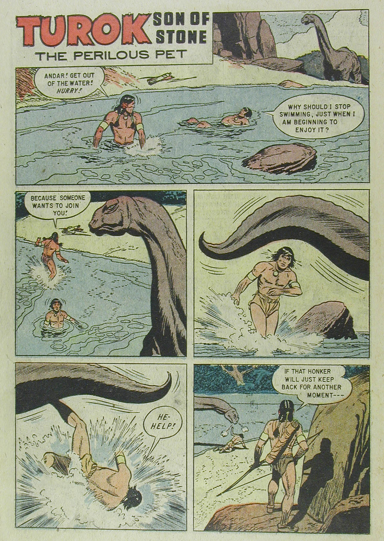 Read online Turok, Son of Stone comic -  Issue #13 - 22