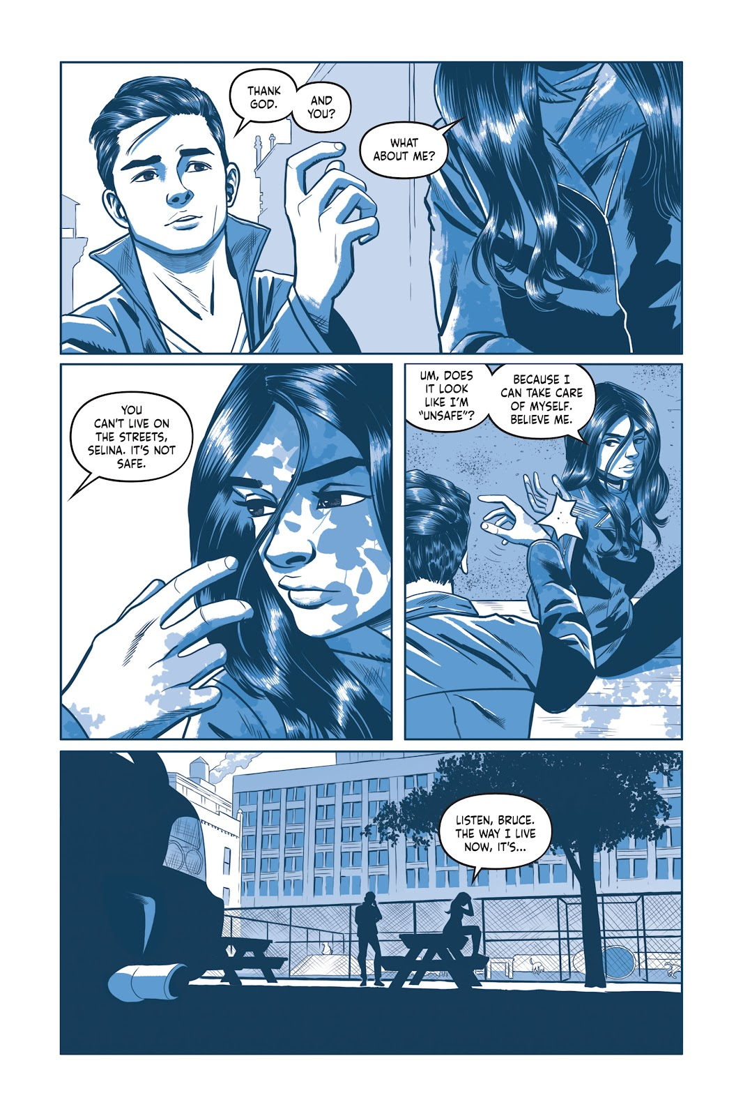 Read online Under the Moon: A Catwoman Tale comic -  Issue # TPB (Part 2) - 86