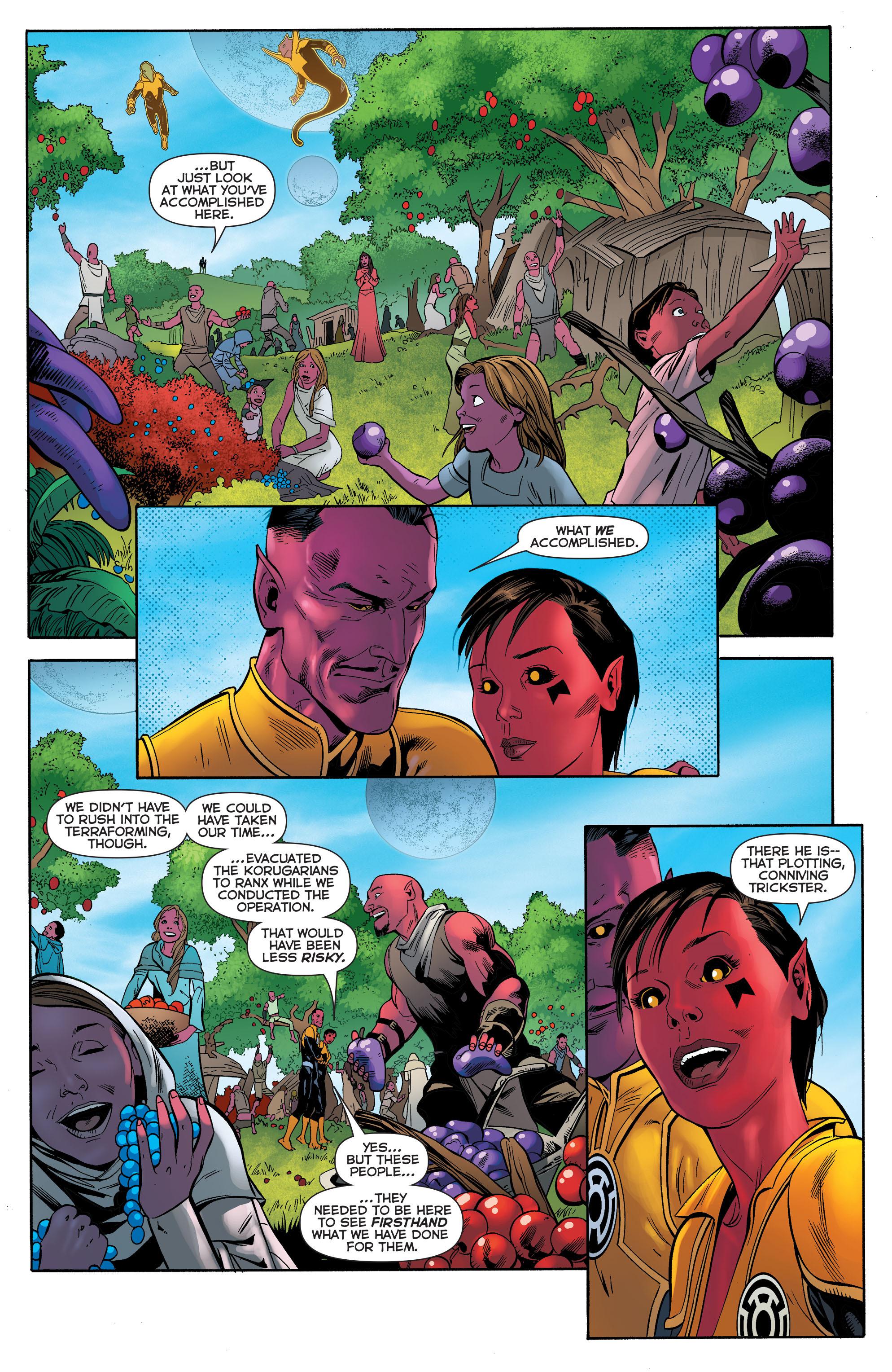 Read online Sinestro comic -  Issue #23 - 18